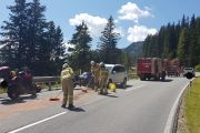 Verkehrsunfall auf der Arlbergpassstraße